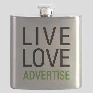 Live Love Advertise Flask