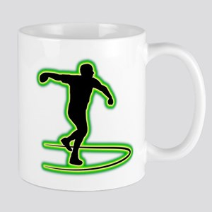 Discus Throwing Mug