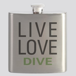 Live Love Dive Flask