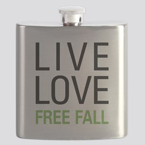 Live Love Free Fall Flask