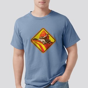 wrecker tow truck car Mens Comfort Colors Shirt