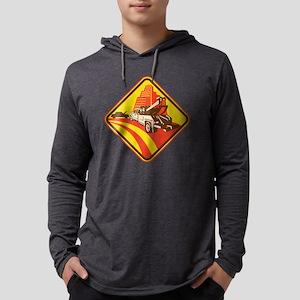 wrecker tow truck car Mens Hooded Shirt