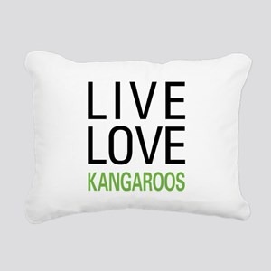 livekangaroo Rectangular Canvas Pillow
