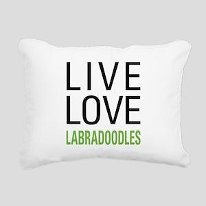 livelabradoodle Rectangular Canvas Pillow