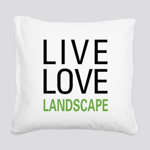 liveland Square Canvas Pillow