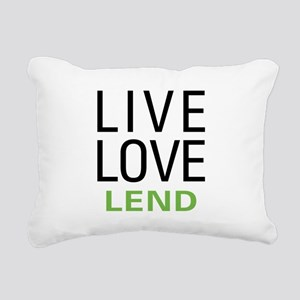 livelend Rectangular Canvas Pillow