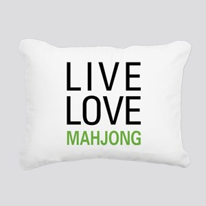 livemahjong Rectangular Canvas Pillow