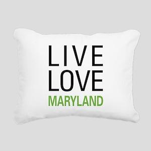 liveMD Rectangular Canvas Pillow