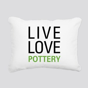 livepottery Rectangular Canvas Pillow