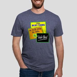 Hold Onto Mens Tri-blend T-Shirt