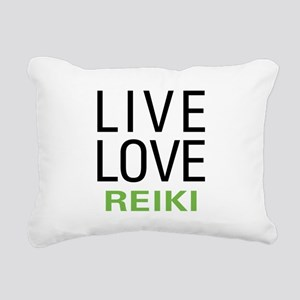livereiki Rectangular Canvas Pillow