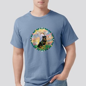W-AngelBlessing-Rottie3. Mens Comfort Colors Shirt