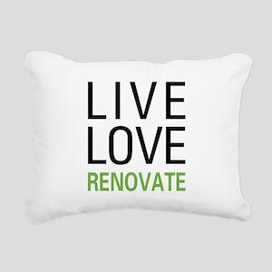 liverenovate Rectangular Canvas Pillow