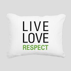 liverespect Rectangular Canvas Pillow