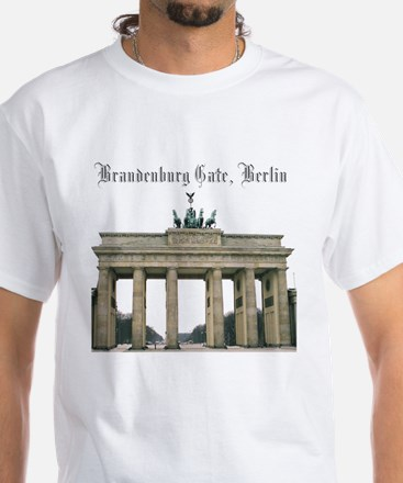 Brandenburg Gate White T-Shirt