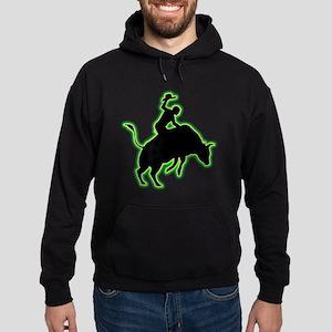 Bull Riding Hoodie (dark)