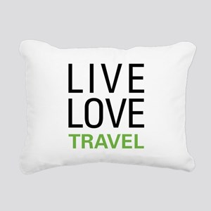 livetravel1a Rectangular Canvas Pillow