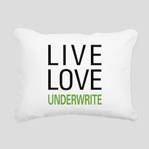 liveunderw Rectangular Canvas Pillow