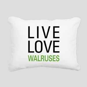 livewalrus Rectangular Canvas Pillow