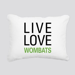 livewombat Rectangular Canvas Pillow