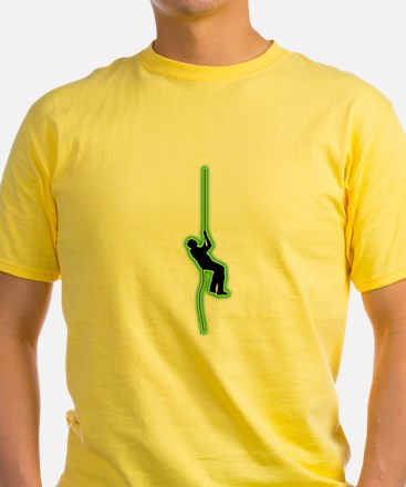 Abseiling T