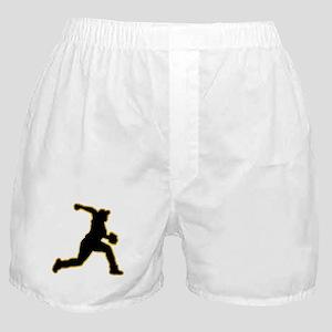 Baseball Pitcher Boxer Shorts