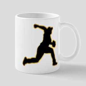 Baseball Pitcher Mug