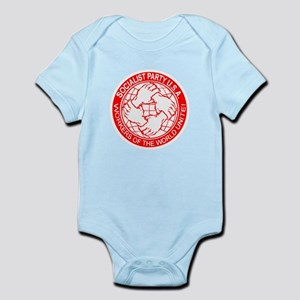 Socialist Party USA logo Infant Bodysuit