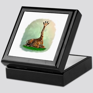 Giraffe Keepsake Box