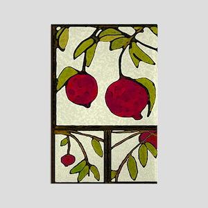 pomegranates Rectangle Magnet