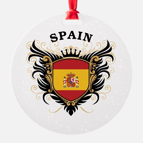 Spain Round Ornament