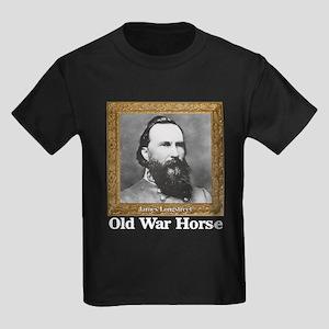 Old War Horse - Longstreet Kids Dark T-Shirt