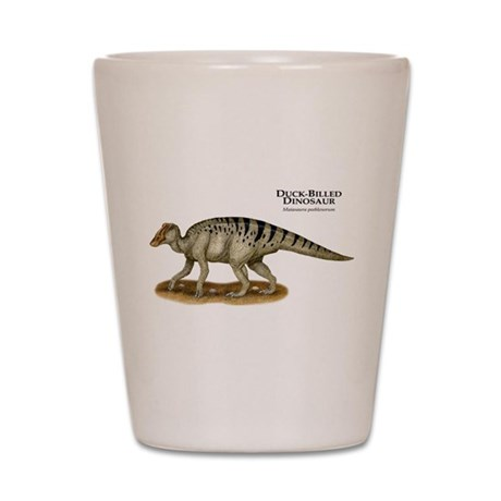 Duck-Billed Dinosaur Shot Glass