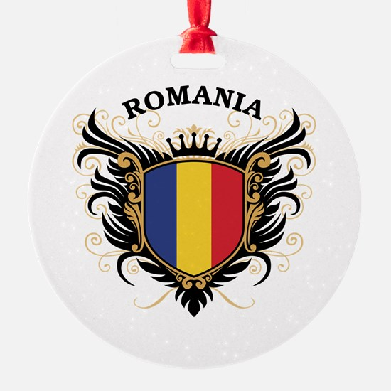 Romania Ornament