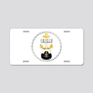 Navy - CPO - Chief - 1 Aluminum License Plate