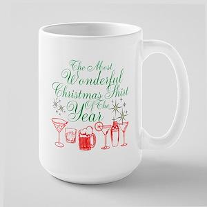 Wonderful Christmas Shirt Large Mug