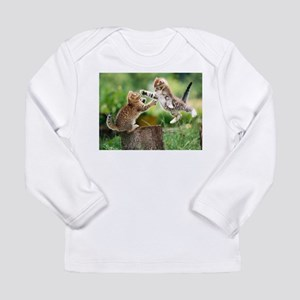 Ninja Kittens Long Sleeve Infant T-Shirt