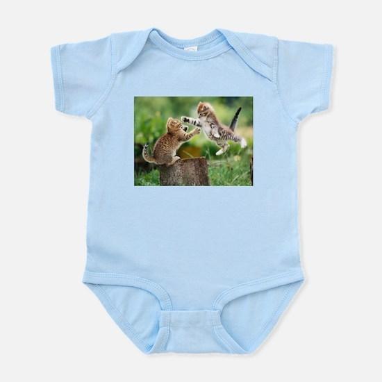 Ninja Kittens Infant Bodysuit