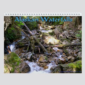 Chilkoot Waterfall Wall Calendar