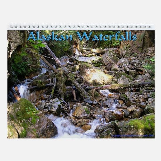 Chilkoot Waterfall Wall Calendar