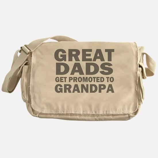 great dads grandpa Messenger Bag