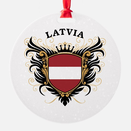 Latvia Ornament