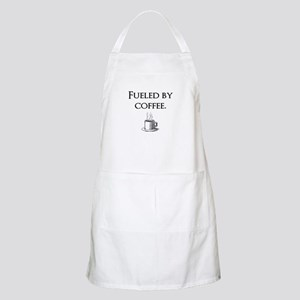 Fueled by coffee. Apron