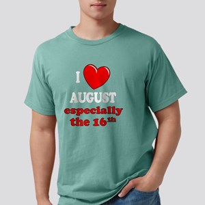 august16W Mens Comfort Colors Shirt