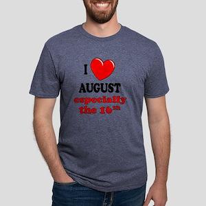 august16 Mens Tri-blend T-Shirt