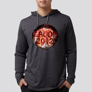 BACON20124.66x4.66wtxt Mens Hooded Shirt