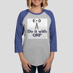 do it with qrp Womens Baseball Tee