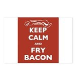 Keep Calm and Fry Bacon Postcards (Package of 8)