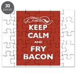 Keep Calm and Fry Bacon Puzzle