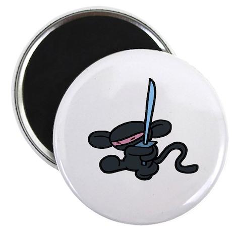 "Minky Ninja Kick 2.25"" Magnet (100 pack)"